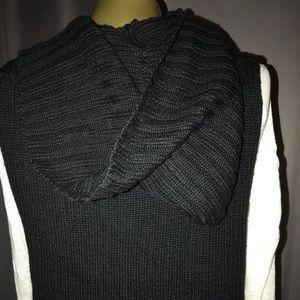 Michael Kors Sweaters - Michael Kors knit hooded vest